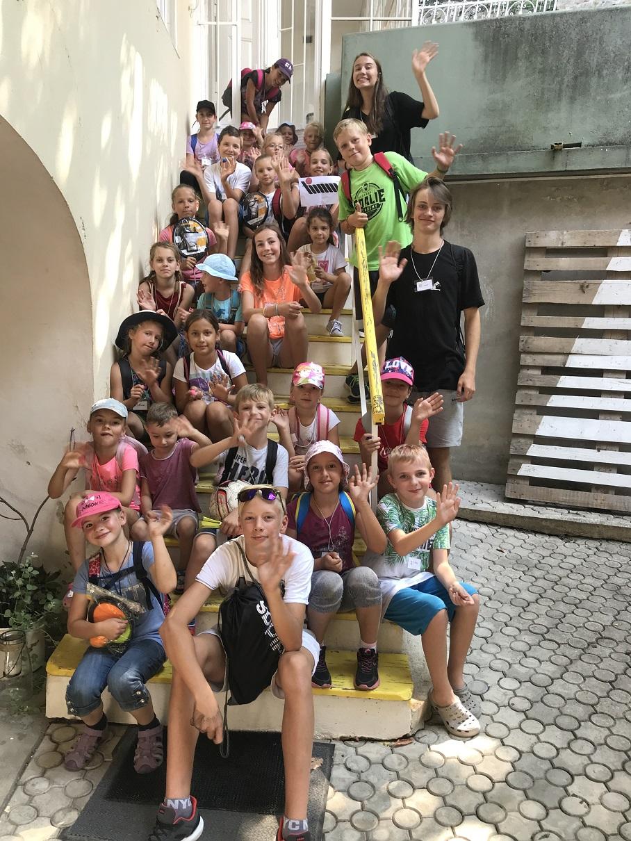 CPR Trenčín - letný tábor 2018